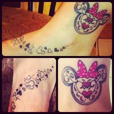 My tattoo, pixie dust and disney maic with me everyday!