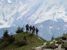 Op de top van de Col de Arravis (fr) Haute Savoie