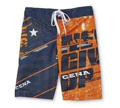 WWE John CENA Swimtrunks Boy's 6/7 NEW Board Shorts Swim Trunks Never Give UP #WWE #SwimShorts