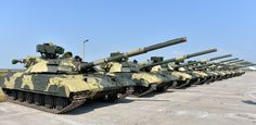 Transfer of the new military equipment to the Ukrainian Armed Forces, T-64BM «Bulat», Chuhuiv military airfield, 12 August 2015 #ukraine #military #army