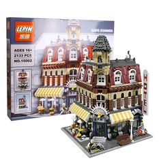 2016 New 2133Pcs LEPIN 15002 Cafe Corner Model Building Kits Blocks Kid Brick Toy Gift Compatible With 10182  EUR 61.15  Meer informatie  http://ift.tt/2p7hSOz #aliexpress