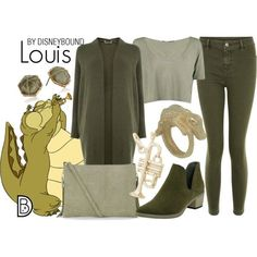 Disney Bound - Louis from The Princess and the Frog #disney #disneybound #disneystyle #disneyfashion