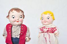Plastic Campbell Soup Dolls