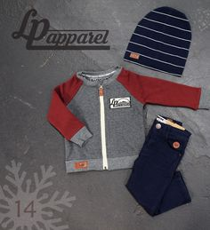 Beanie: Boston v4.18 / Sweatshirt: Robson - Burgundy / Pants: Skateboard - Navy * L&P exclusive *