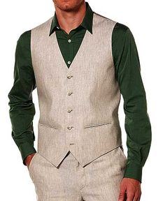 Linen+Waist+Coat+-+Pre+Set+Sizes+-+Quick+Order+:+Custom+Suits,++ +Shirts+ +Sport+ +Coats+ +Tailor