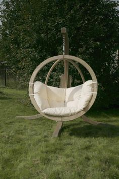 Buy Amazonas Globo Cushion Only in Natura from our Hammocks & Swing Seats range - Tesco.com