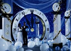 clock wedding theme | Cinderella Themes! - Theme, Party Favors and Decorations For Private ...