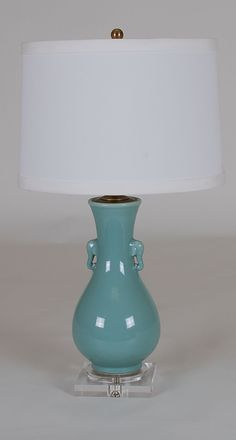 Celadon Lamp: Avala And Summerour Lamps