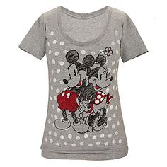 Minnie and Mickey Mouse Tee for Women | Tees, Tops & Shirts | Disney Store