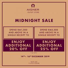 6d5fcd677e 14-16 Dec 2018  Aigner Special Sale Malaysia