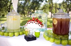 Outdoor Beverage Table  fromCountry Cabin With Cindy ~