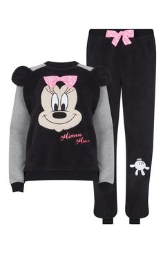 Primark - Pijama com forro em lã Minnie Mouse