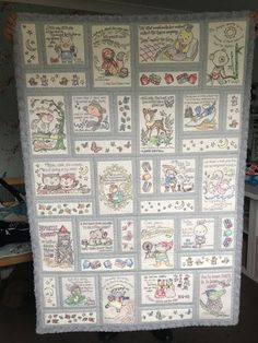 Machine Embroidery Quilts, Applique Quilts, Machine Embroidery Designs, Children's Quilts, Panel Quilts, Baby Girl Quilts, Girls Quilts, Low Volume Quilt, Anita Goodesign