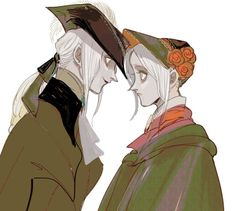 Bloodborne: The Old Hunters Image - Zerochan Anime Image Board Lady Maria, Bloodborne Game, Soul Game, Dark Souls, Character Design Inspiration, Aesthetic Art, Cute Art, Art Inspo, Art Reference