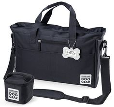 Dog Carrier Backpacks - Dog Travel Bag Day Away Tote For All Size Dogs Includes Bag Lined Food Carrier And Luggage Tag -- You can find out more details at the link of the image. (This is an Amazon affiliate link)
