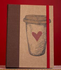Capa para Kindle Kraft Café | Atelier Virtual | Elo7