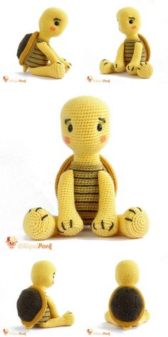 Amigurumi organic toys are becoming more popular today. We share with you the most current amigurumi patterns. Crochet Animal Patterns, Stuffed Animal Patterns, Amigurumi Patterns, Crochet Animals, Crochet Toys, Amigurumi Tutorial, Crochet For Kids, Easy Crochet, Free Crochet