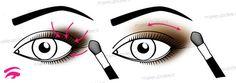 schema su come sfumare l'ombretto scuro Beauty Makeup, Make Up, Artist, Make Up Beauty, Makeup, Maquiagem, Gorgeous Makeup, Artists