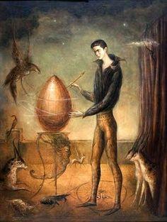 """El Arcangelino: Detalles #4: """"Quería Ser Pájaro"""" de Leonora Carrington"""