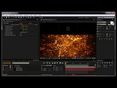 After Effects Tutorial: Fire ember particles - YouTube