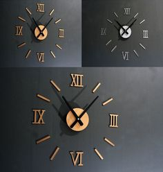 reloj de pared de madera color cafe moro con numeros romanos para decorar las paredes de su casa u oficina peso kgaltura cmu