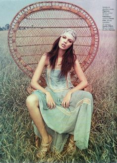 hippie look from marie claire magazine