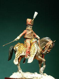 Murat Campagna di Polonia - 1807 - Virtual Museum of Historical Miniatures Virtual Museum, Napoleonic Wars, Close Image, Troops, Miniatures, Horses, History, Arrow Keys, Military