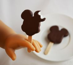 Disney inspired Mouse Ice Cream for American Girl Doll set of 2 on Etsy, $6.00