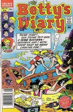 Betty's Diary 18, Archie Comic Publications, Inc. https://www.pinterest.com/citygirlpideas/archie-comics/