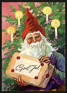 Julkort av Jenny Nyström