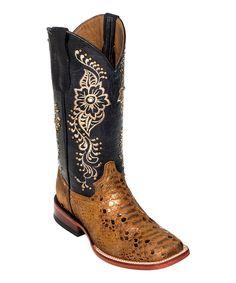 339d4d91e Bronze Python Leather Cowboy Boot - Women Bridesmaids Cowboy Boots