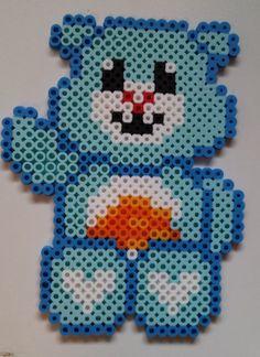 Wish Bear - Perler Care Bear by Joanne Schiavoni