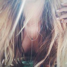 || Salty hair is the best hair  // featuring the Isabelle Necklace xx . . . . . . . . . . . . . #savetheocean #jotd #jewelryforacause #jewelrydesigner #beach #beachday #venice #goldchain #swarovski #14kgold #pretty #salty #ocean #oceanconservation #happyfriday #tgif #California #la #madeincalifornia #blondehair #sun