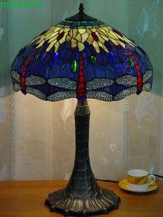 Dragonfly Tiffany Lamp20S4-362T927