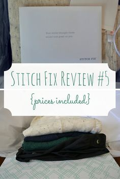 I kept every one of the outfits that Stitch Fix sent me in this box! This subscription box for women is such a great one.