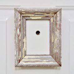 New Orleans Reclaim Wood Frame, Peephole Frame, Picture Frame by RestorationHarbor