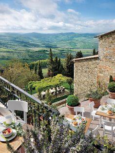 Un hotel maravilloso en la Toscana
