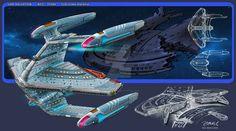 Spaceship Art, Spaceship Design, Star Trek Online, Starfleet Ships, Starship Concept, Sci Fi Ships, Star Trek Starships, Concept Ships, Concept Art