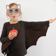 Homemade costumes perfect for trick-or-treating. Try a skeleton, a lion, a witch, or one of our othe