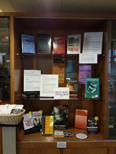 October is Domestic Violence Awareness Month.  The Library has set up a display of resources about domestic violence, including information about the Wheelock College Counseling Center and the Boston Area Rape Crisis Center.
