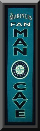 Heritage MAN CAVE Banner Of Mariners -Framed Awesome & Beautiful-Must For A Championship Team Fan! Most MLB Team Banners Available-Plz Go Through Description & Mention In Gift Message If Need A different Team Art and More, Davenport, IA http://www.amazon.com/dp/B00KZF21E8/ref=cm_sw_r_pi_dp_P5aEub19XX0NB