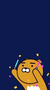 Kết quả hình ảnh cho 라이언 핸드폰 배경 화면 Emoji Wallpaper Iphone, Kawaii Wallpaper, Girl Wallpaper, Cartoon Wallpaper, Ryan Bear, Kakao Ryan, Apeach Kakao, Cute Lockscreens, Doodle Quotes