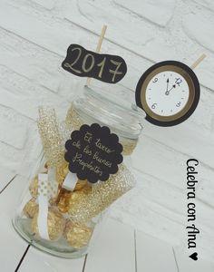 Tarro buenos propositos de año nuevo