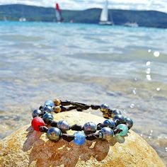 "24 Likes, 3 Comments - Vegas Placas (@placaspearls) on Instagram: ""Multi color Tahitian pearl bracelet in Southern France Provence. #gorgesduverdon #lacstcroix #tbt…"""