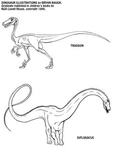 how to draw prehistoric animals