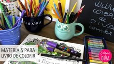 Desafio + Materiais para colorir Floresta Encantada e Jardim Secreto