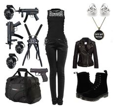 My new apocalypse outfit Bad Girl Outfits, Punk Outfits, Gothic Outfits, Teen Fashion Outfits, Cosplay Outfits, Anime Outfits, Cute Casual Outfits, Zombie Apocalypse Outfit, Apocalypse Fashion