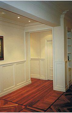 friso de madera - Buscar con Google Panelling, Armoire, Tile Floor, Home Improvement, Windows, Doors, Flooring, Google, Furniture