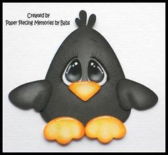 Fall-Crow-Premade-Paper-Piecing-for-Scrapbook-Pages-by-Babs
