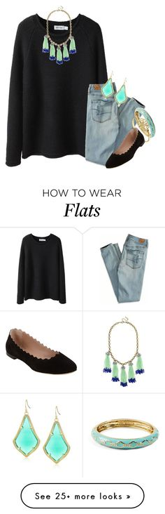 """""""started the Carrie diaries last night!!!"""" by thefashionbyem on Polyvore featuring Steven Alan, BaubleBar, American Eagle Outfitters, Vera Bradley, Chloé, Kendra Scott, women's clothing, women's fashion, women and female"""